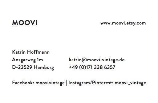 Jutta Haeuse Design Logo Visitenkarten Hamburg Moovi